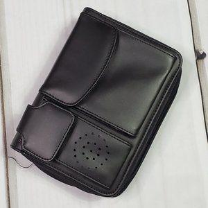 Vintage Zippered Planner Organizer Wallet